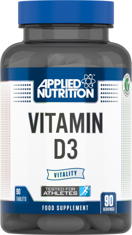 Vitamin D3 90 Tablets (90 Servings)